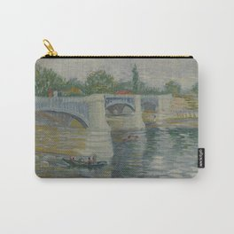 The Bridge at Courbevoie Carry-All Pouch