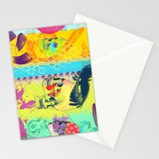 Candy knife fight Stationery Cards