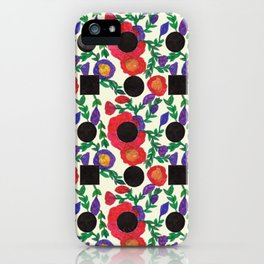 Flower People iPhone Case