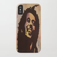 marley iPhone & iPod Cases featuring Rainbow Marley by Gabrielle Fazio