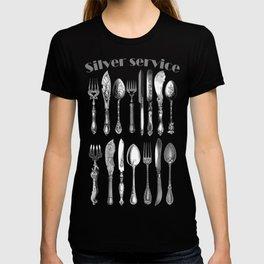 antique cutlery T-shirt