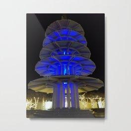 Japantown lights Metal Print