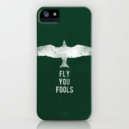 fly you fools iPhone Case