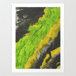 Brain Solvent Art Print