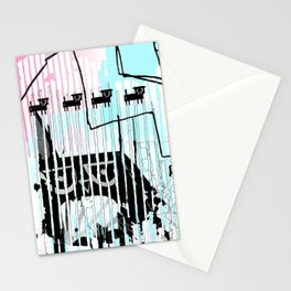 ODD MIKEY Stuff - Abstract Story - Part I Stationery Cards