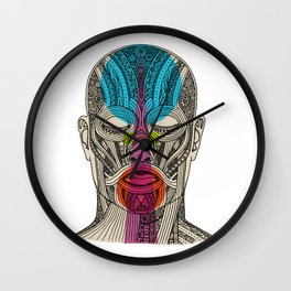 Wedding Face 3 Wall Clock