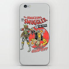 The Amazing Smuggler iPhone & iPod Skin