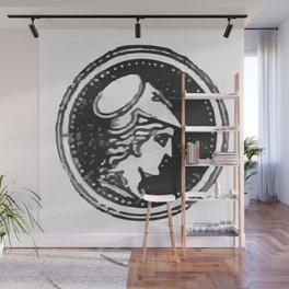 Athena Minerva Wall Mural