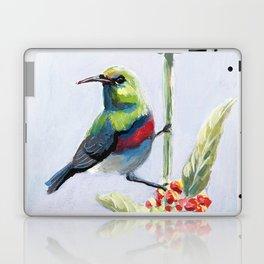 Green and Red Bird Laptop & iPad Skin