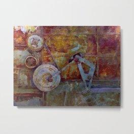 Rust Belt IX Metal Print