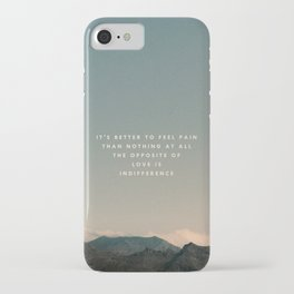 Stubborn Love iPhone Case