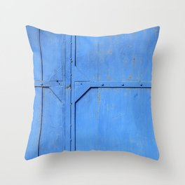 Rusty Metal Sheet Throw Pillow