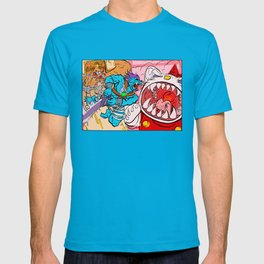 Monster Plus vs Kaiju Kitty T-shirt