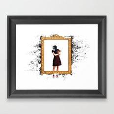 Arty Shit Framed Art Print