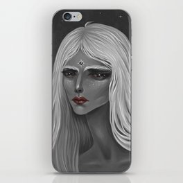 The Moon and Her iPhone Skin