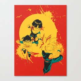 Kid Gohan Canvas Print