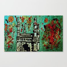 A Colour Riot at Charminar Canvas Print