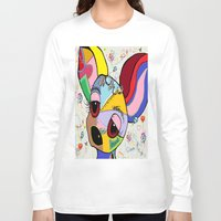 chihuahua Long Sleeve T-shirts featuring Chihuahua by EloiseArt