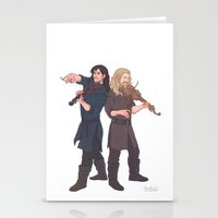 fili Stationery Cards featuring fili&kili - music by Ronnie