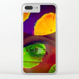 All Eyes On Me Clear iPhone Case