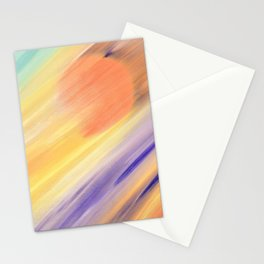 """Catch the Sun #1 – New #1"" Oil Painting Stationery Cards"