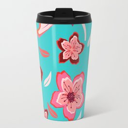 Exotic Flowermix Travel Mug