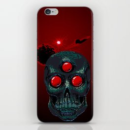 Horror From Beyond Time and Spaaaaaaace! iPhone Skin