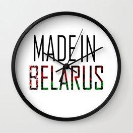Made In Belarus Wall Clock
