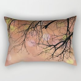 Autumn Tree Photo - Abstract, dreamy photography Rectangular Pillow