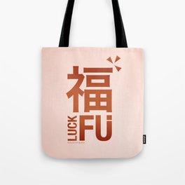 Luck Fu Tote Bag