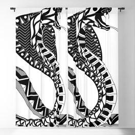 black king cobra ecopop Blackout Curtain