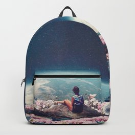 My World Blossomed when I Loved You Backpack