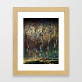 Atlante 13-06-16 / STAIRS Framed Art Print