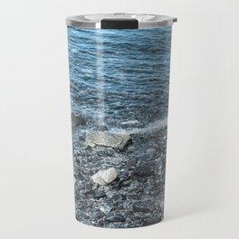 The Deep Blue - Acadia Maine Travel Mug