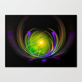 Magical Light and Energy 11 Canvas Print