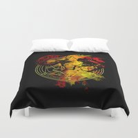 fullmetal Duvet Covers featuring Alchemy by Coffeewatson