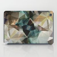 garfield iPad Cases featuring Abstract Grunge Triangles by Phil Perkins