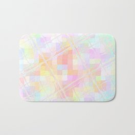 Re-Created Twisted SQ  VI by Robert S. Lee Bath Mat
