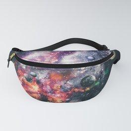 Space galaxy head by GEN Z Fanny Pack
