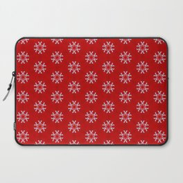 Snowflake Abstract Pattern Laptop Sleeve