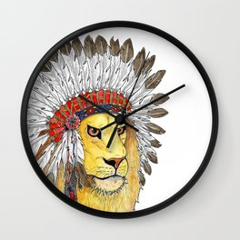 Guardian of your Dreams Wall Clock