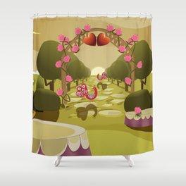 Garden of Eden - Love Shower Curtain
