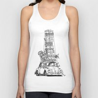 volkswagon Tank Tops featuring Stack Yo Rack by BulldawgDUDE