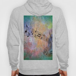 Abstract MUSIC Hoody