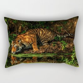 The Royal Bengal Tiger ( Rectangular Pillow