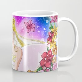 Queen Flowers Coffee Mug