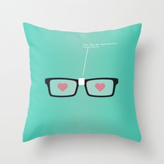 You Fog My Spectacles Throw Pillow