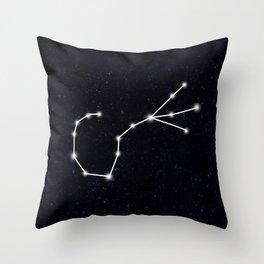 Scorpio Constellation Throw Pillow