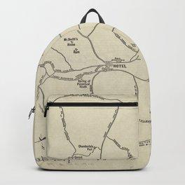 Vintage Mount Monadnock Trail Map (1910) Backpack