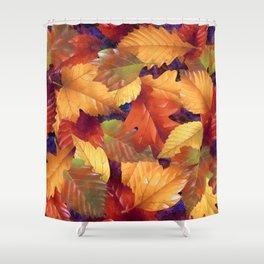 Fallen leaves I Shower Curtain